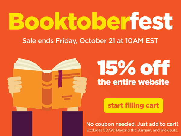 15% off Booktoberfest Sale