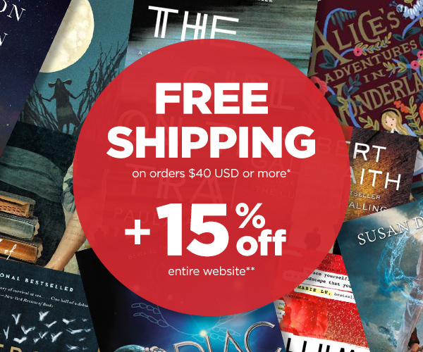 Free Shipping + 15% off
