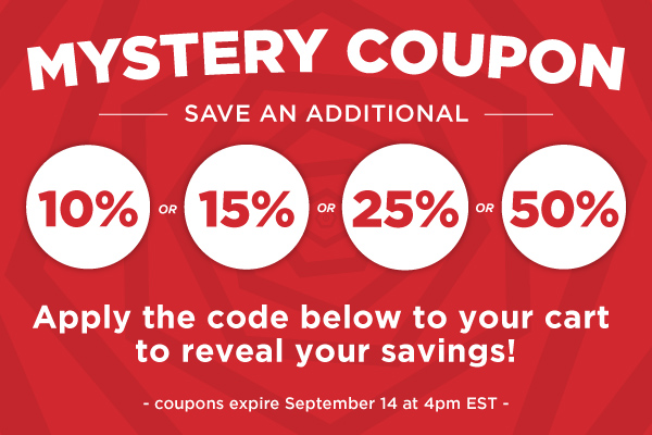 Mystery Coupon for Online Bookstore